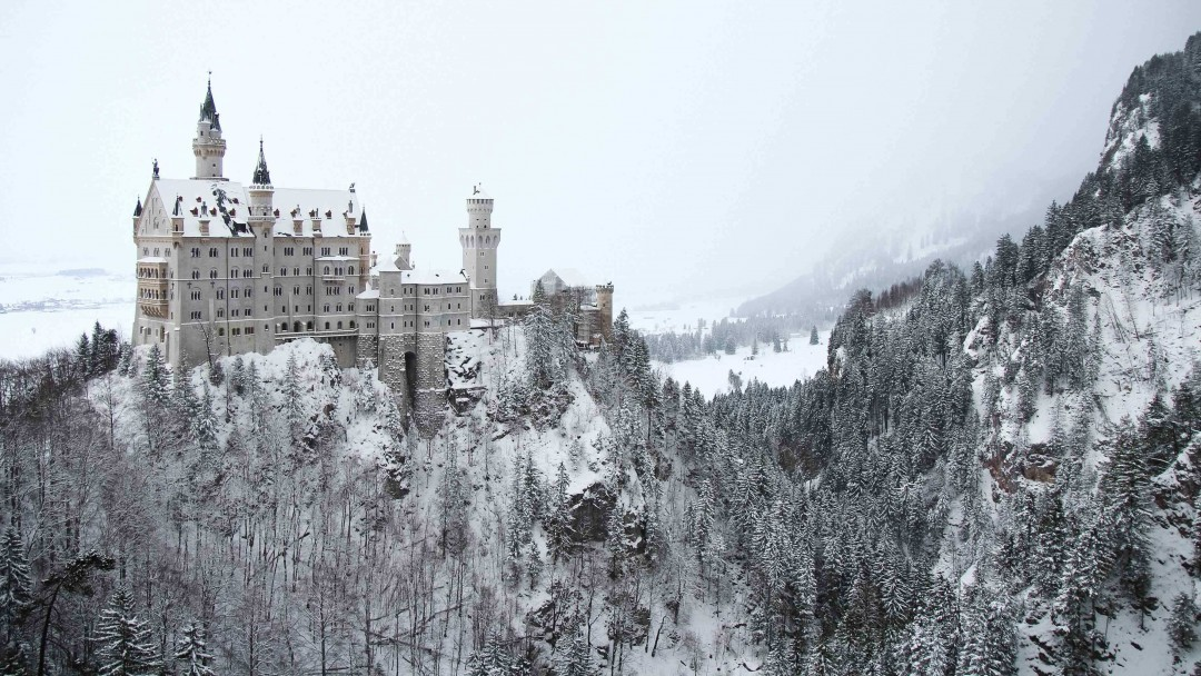 Neuschwanstein-in-the-snow - Fussen, Germany, - European Vacation Packages