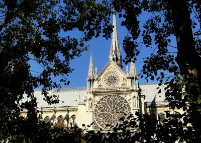 Notre-Dame-Rose-Window - Paris, France - European Vacation Packages
