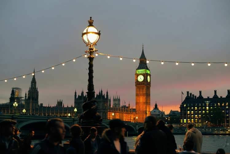 Big Ben at Night - London & Paris Vacation