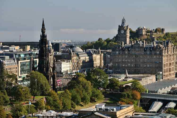 Edinburgh City - Edinburgh & London Vacation
