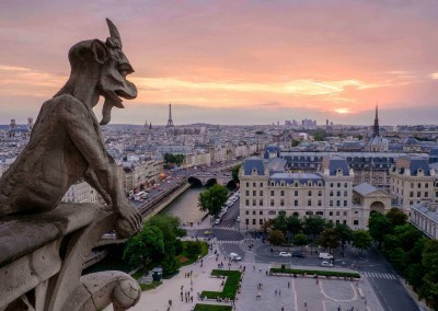 Paris from Notre Dame - Paris, France - European Vacation Packages
