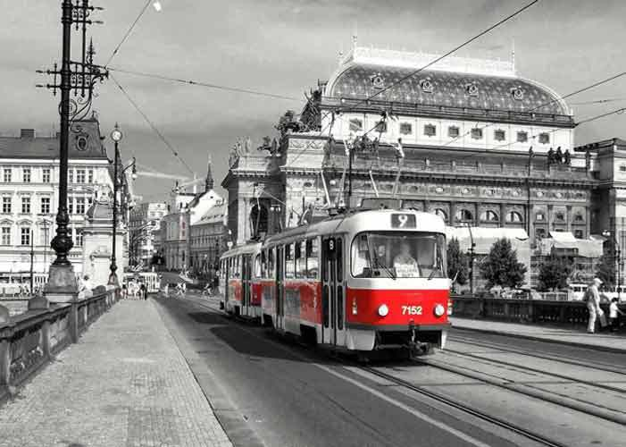Prague City Tram - Prague & Munich Vacation