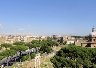 Italy---Rome---Colosseum-&-Forum